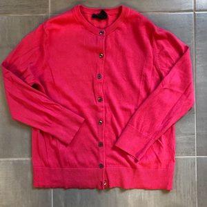 GAP Pink Cardigan, size Large. Button down.